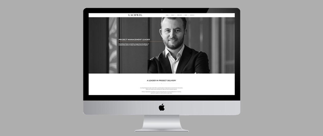 Lachlan Wilson Website Design